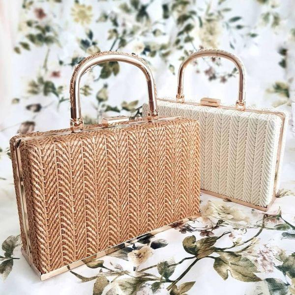 Handbag, CHARLIE STONE Kythira Natural