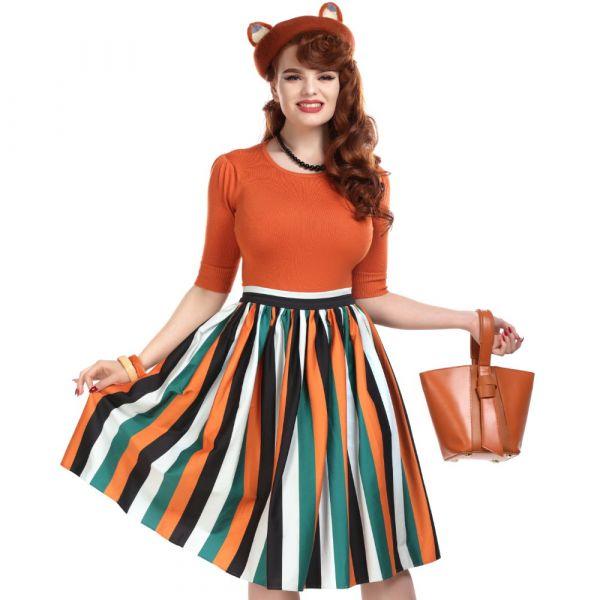 Kellohame, JASMINE Pumpkin Stripe