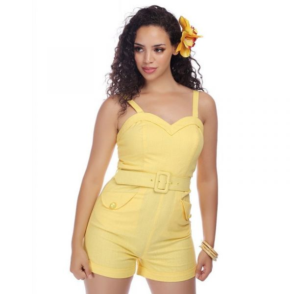 Playsuit, JAY Yellow