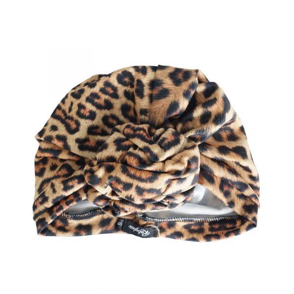 RUBYLEA Turban, JOAN Leopard