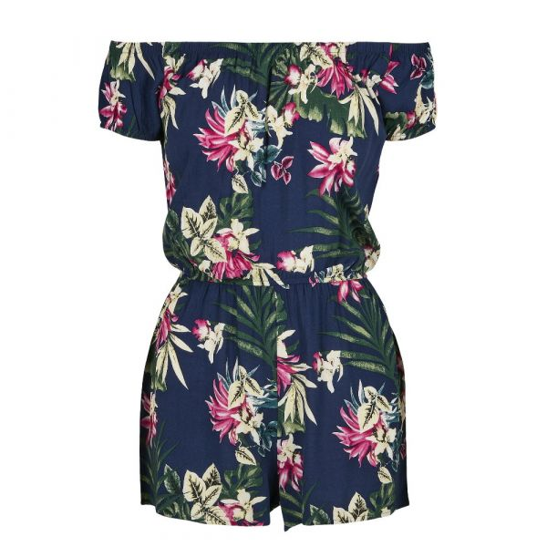 Jumpsuit, RESORT Navy Tropical