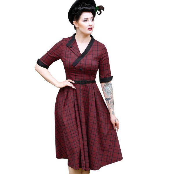 Swing Dress, DAISY DAPPER Stacy Check (175)