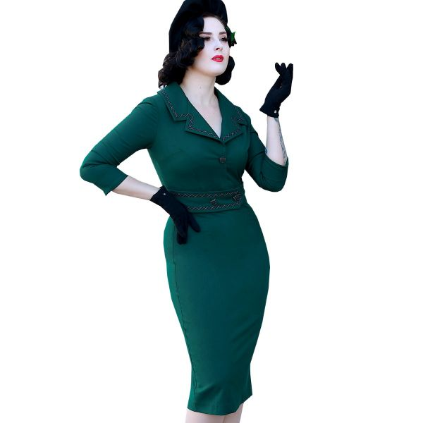 Pencil Dress, DAISY DAPPER Emma Green (27)