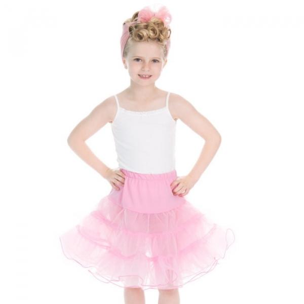 Lasten Petticoat, HR Vaaleanpunainen