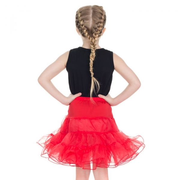 Kids Petticoat, Red