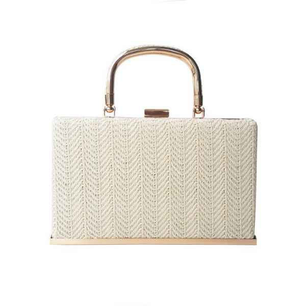 Handbag, CHARLIE STONE Kythira White