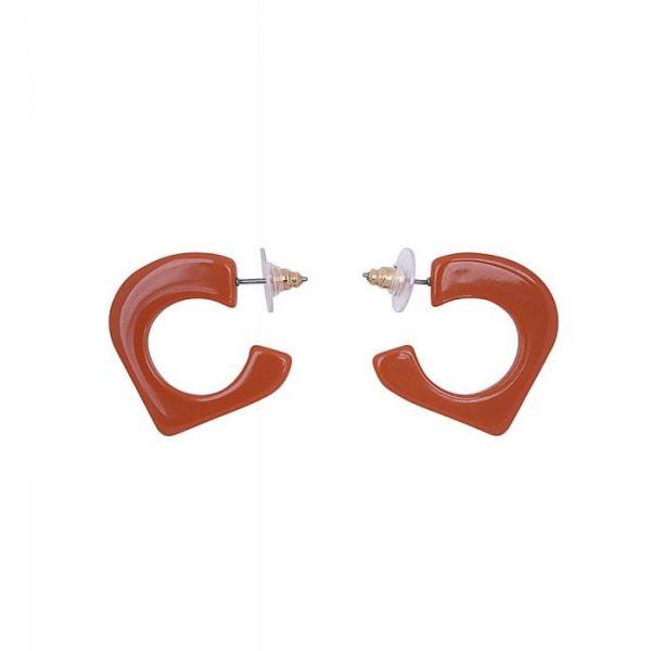 Earrings, LANA ORANGE