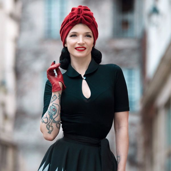 RUBYLEA Hattu, LANA Red