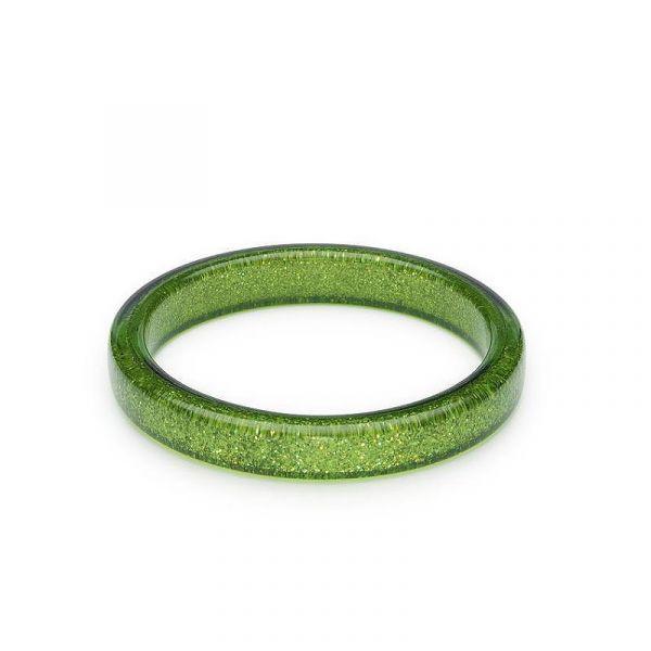 Rannerengas, SPLENDETTE Leaf Green Glitter
