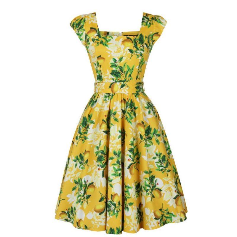 Kellomekko, LADY V Yellow Lemon