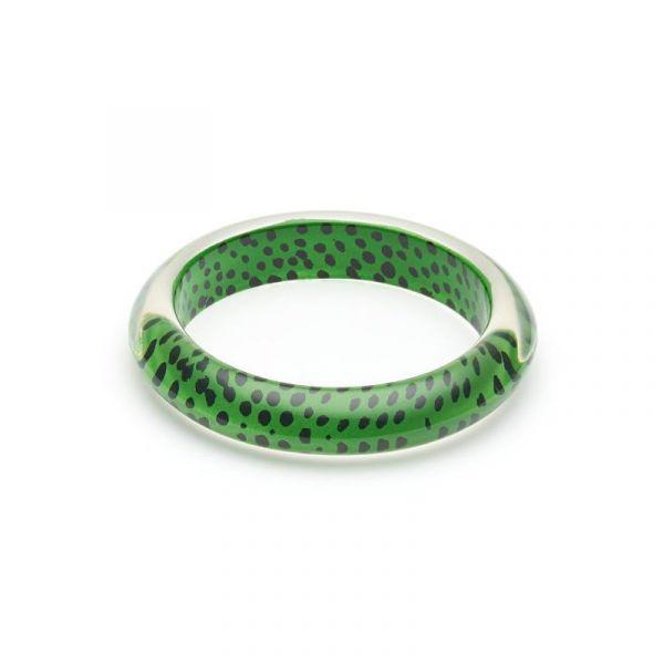 Bracelet, SPLENDETTE Leopard Green