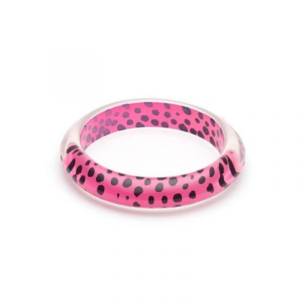 Bracelet, SPLENDETTE Leopard Pink