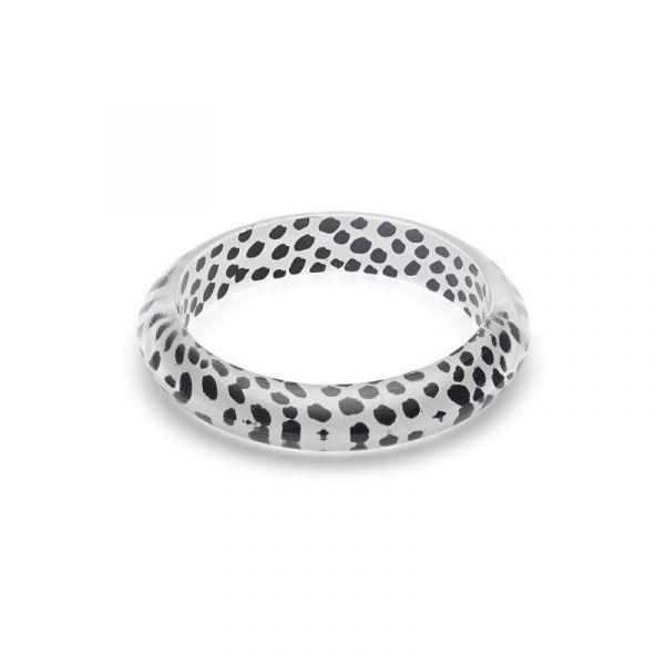 Bracelet, SPLENDETTE Leopard White