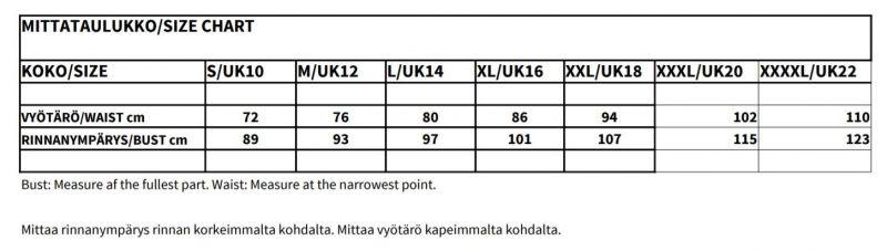Kellomekko, LILY 50s Black (873-21)