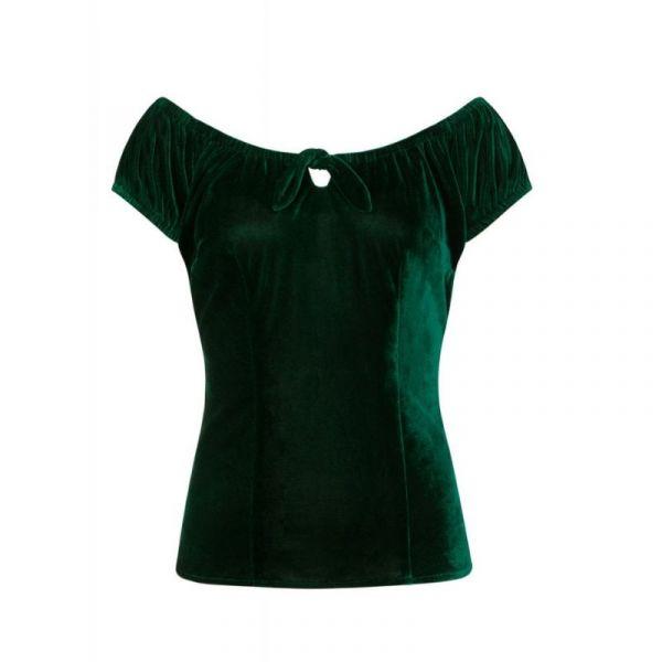 Paita, LORENA Velvet Green