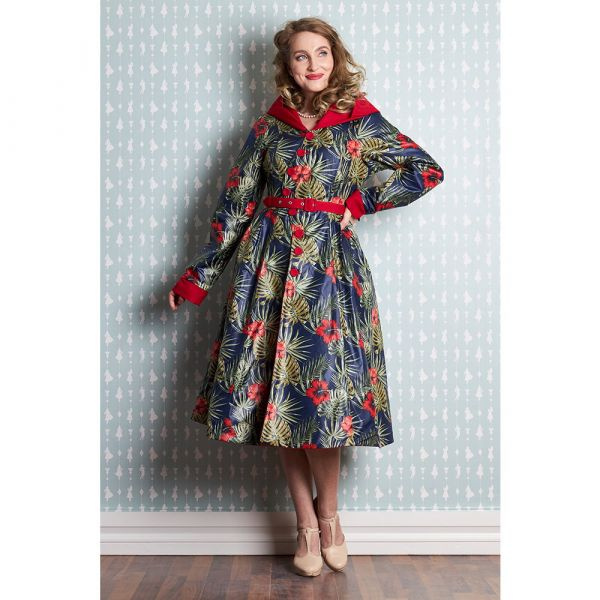 Coat, Miss Candyfloss LORILY-Red