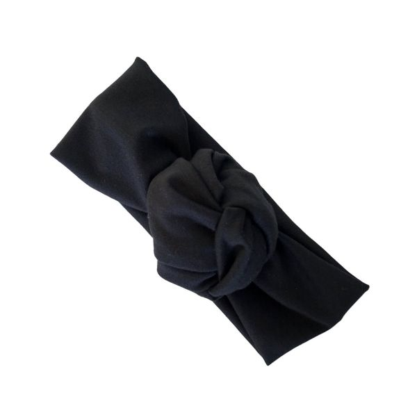 Headband, LOTTA Turban Black