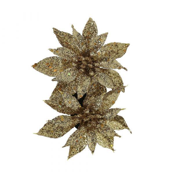 Hair flower, LOUISE Gold