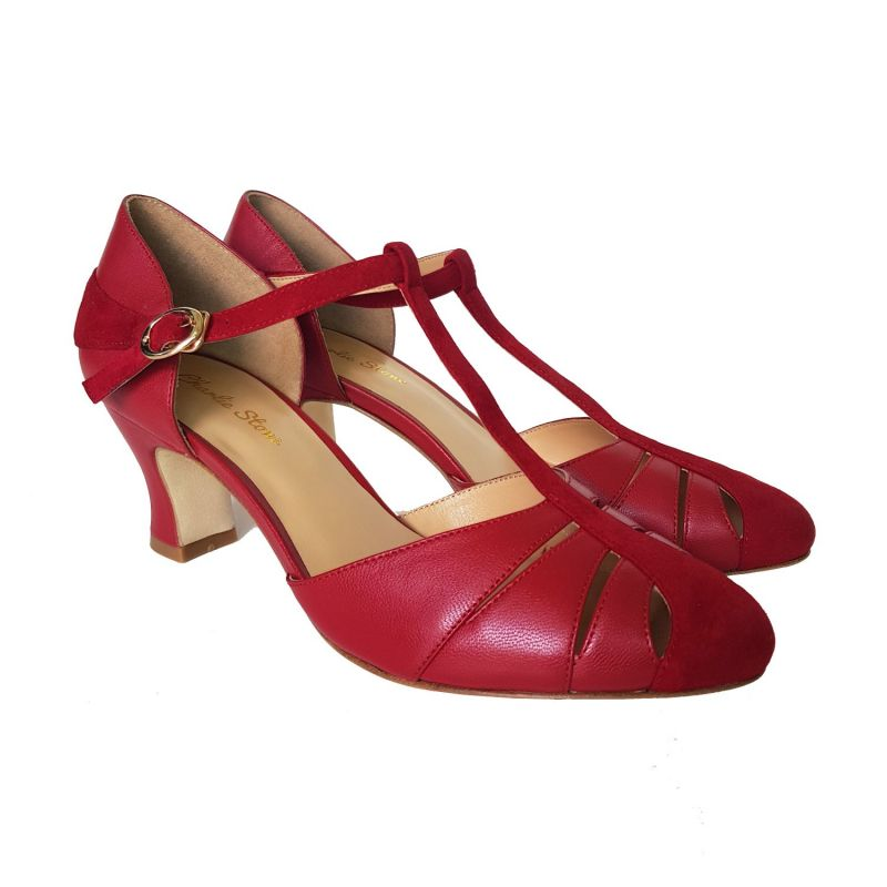 Kengät, CHARLIE STONE Luxe Heel Toscana Red