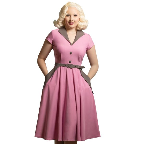 Swing Dress, DAISY DAPPER Magda Pink (176)