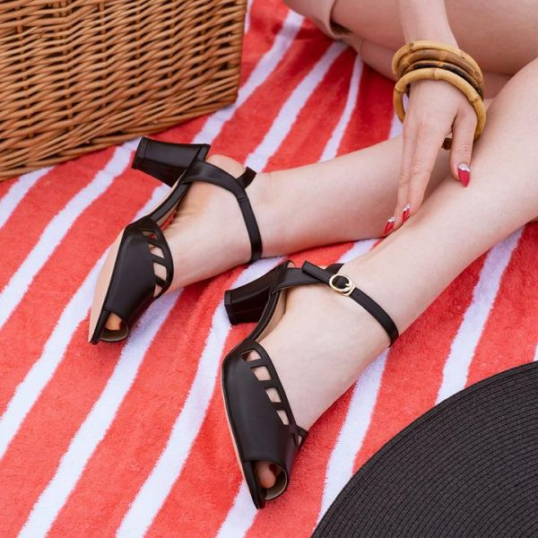 Shoes, HONIARA VINTAGE Makira Black