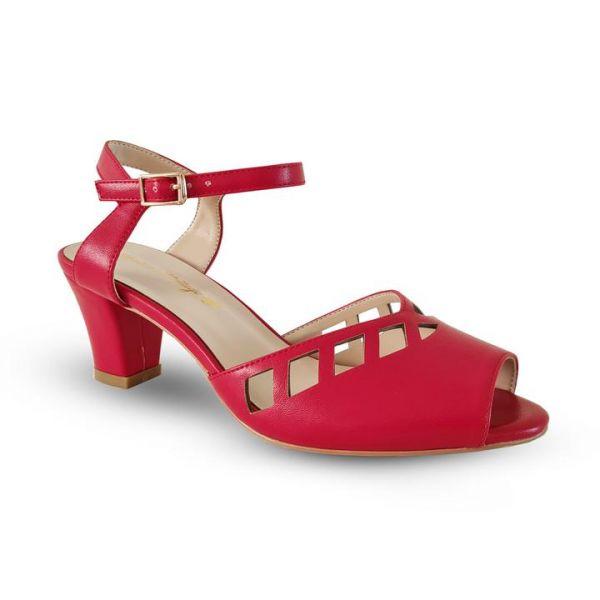 Shoes, HONIARA VINTAGE Makira Red