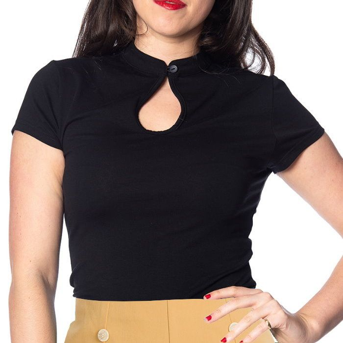 Top, MANDARIN Black (10049)
