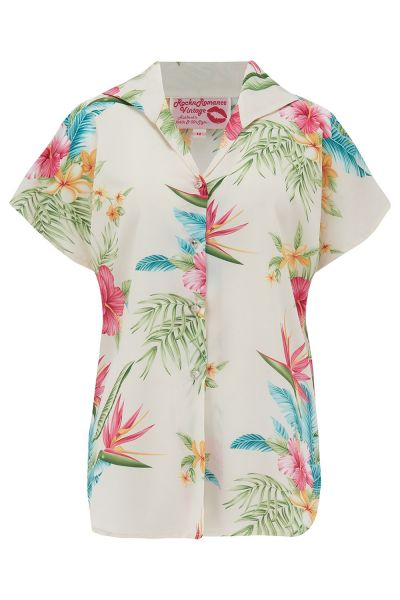 Blouse, MARIA Honolulu Natural