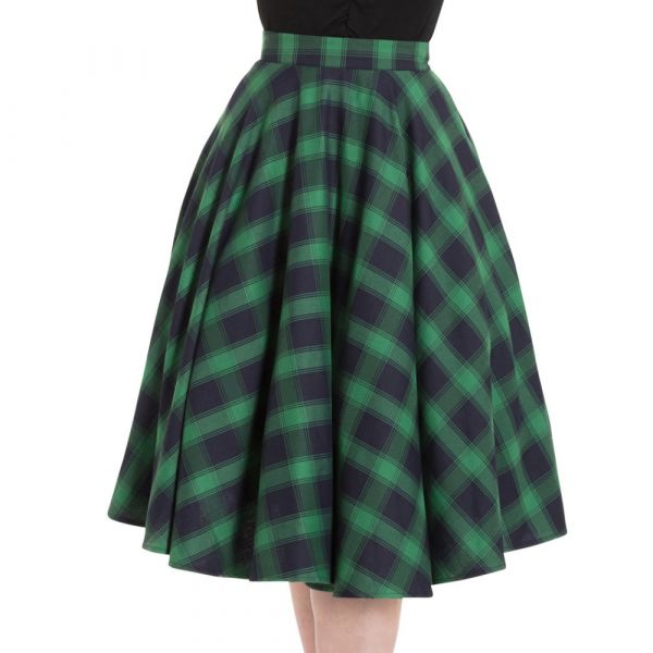 Swing Skirt, MARIENNE GREEN (3327)