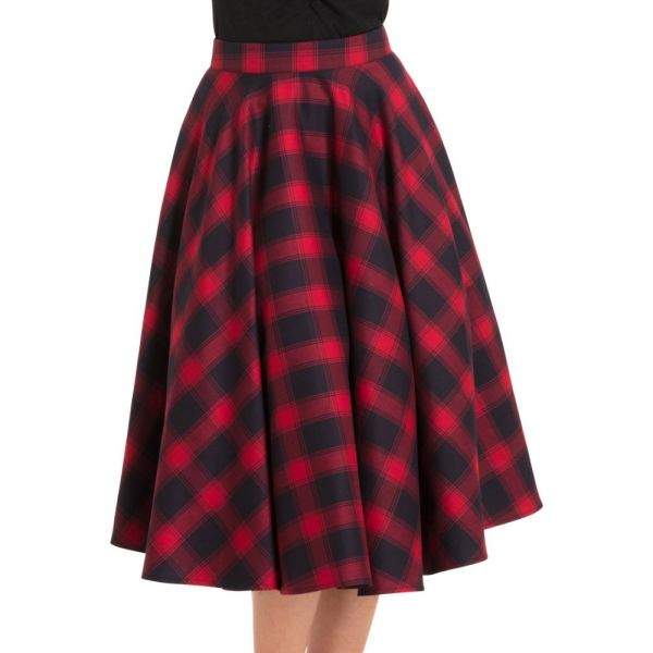 Swing Skirt, MAY RED (3326)
