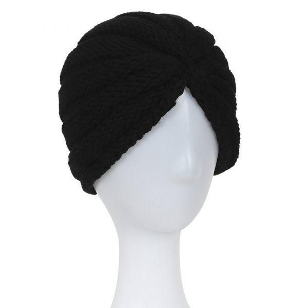 Turban Hat, MILLA Black