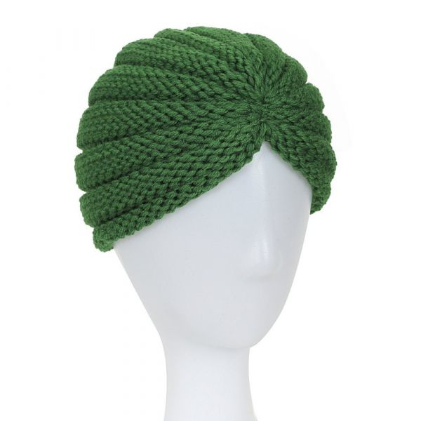 Turban Hat, MILLA Green
