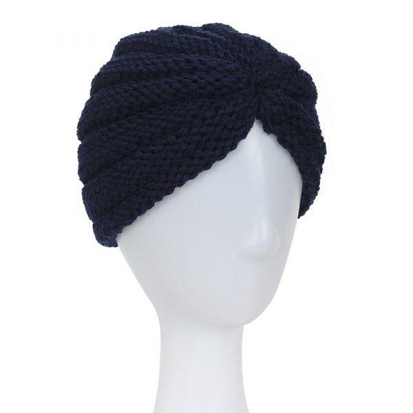 Turban Hat, MILLA Navy
