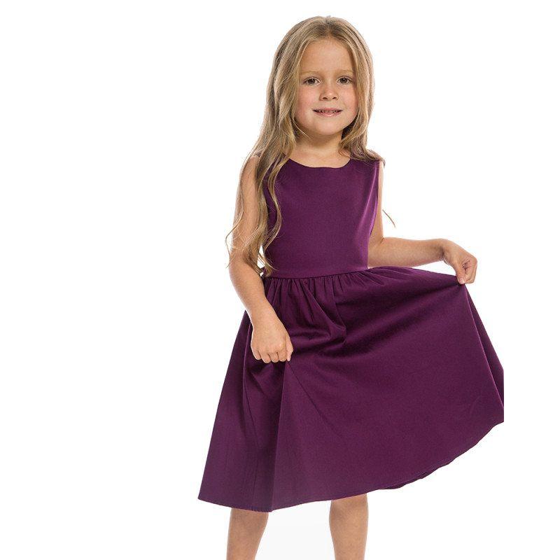 8861f0252 Kids Swing Dress, AUDREY Purple - Dressy