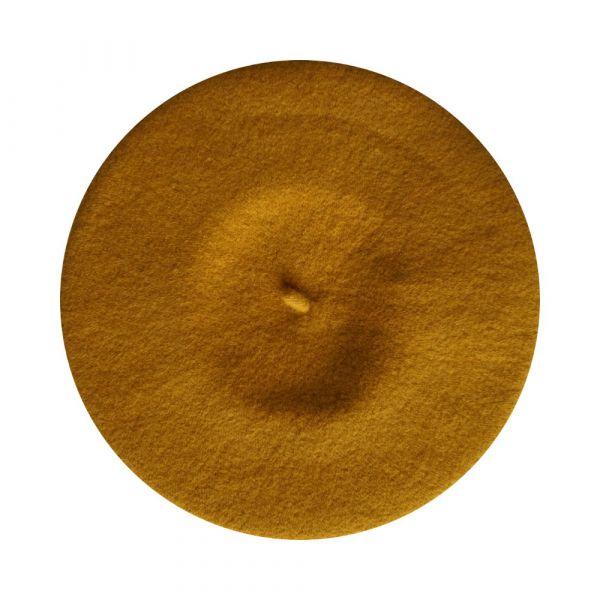 Beret Hat, GRETA Mustard