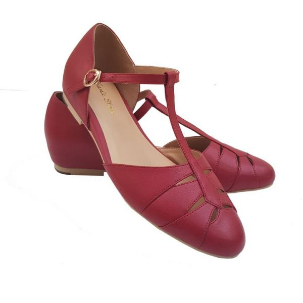 Shoes, CHARLIE STONE Monaco Blood Red