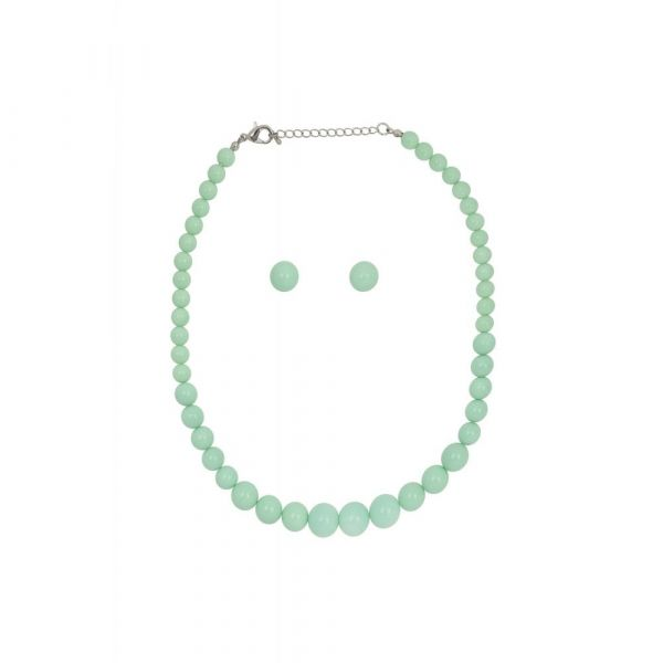 Bead Set, NATALIE Mint