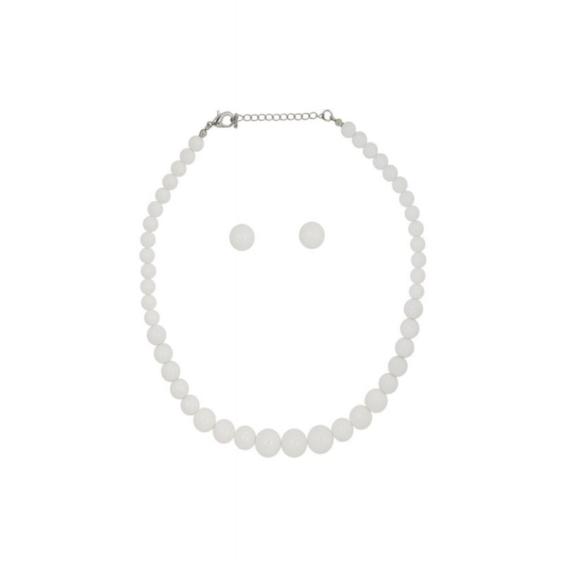 Korusetti, NATALIE Beads White
