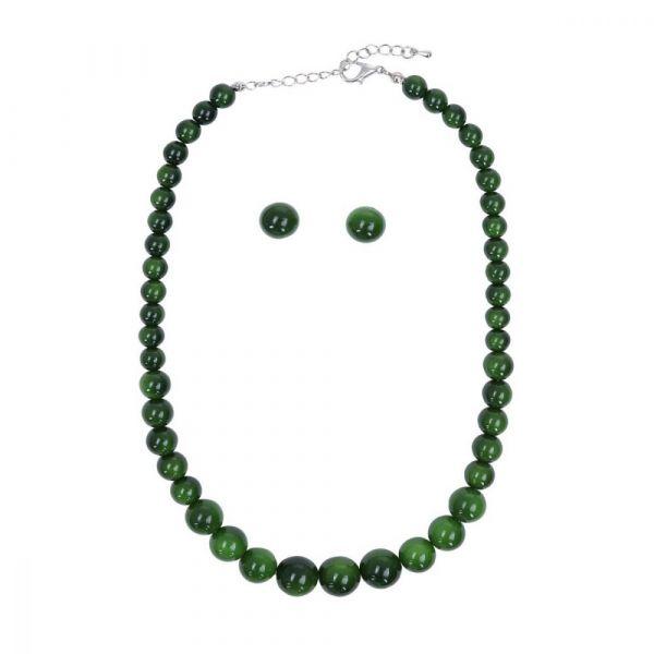 Bead Set, NATALIE Beads Green