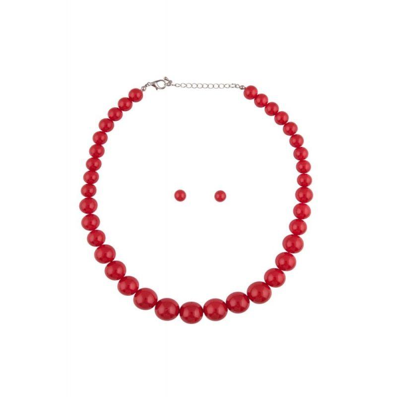 Korusetti, NATALIE Beads Red
