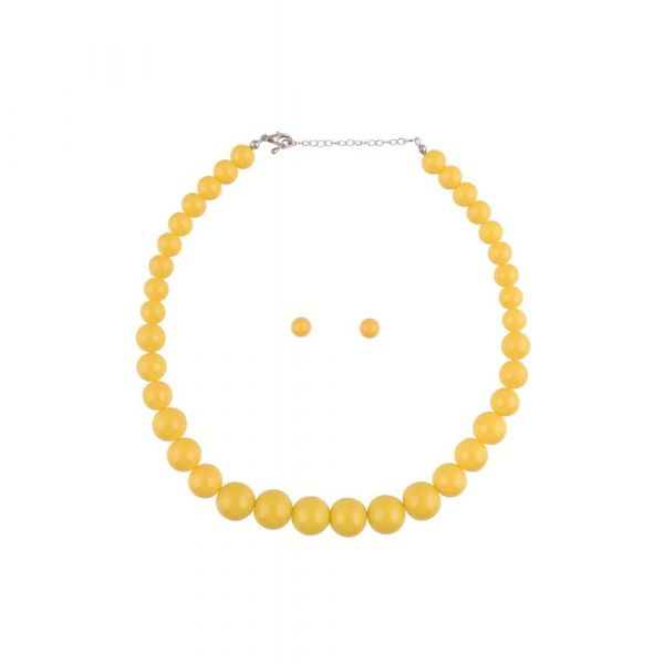 Bead Set, NATALIE Yellow