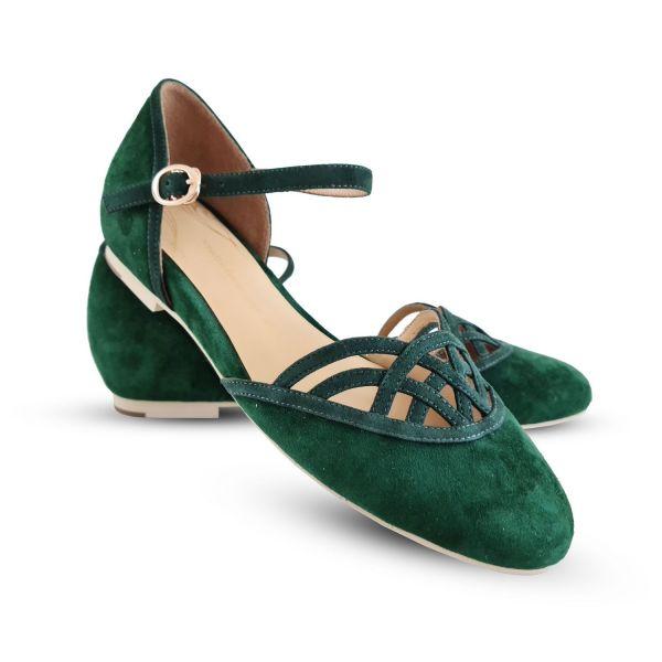 Kengät, CHARLIE STONE Serpente Emerald