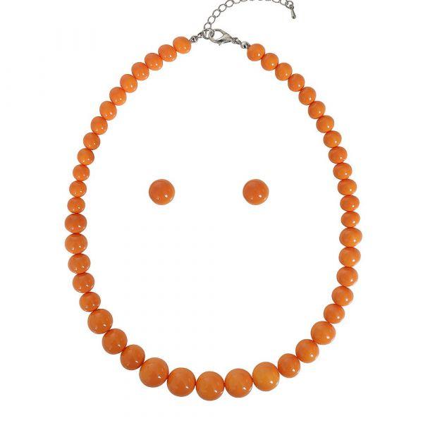 Bead Set, NATALIE Beads Orange
