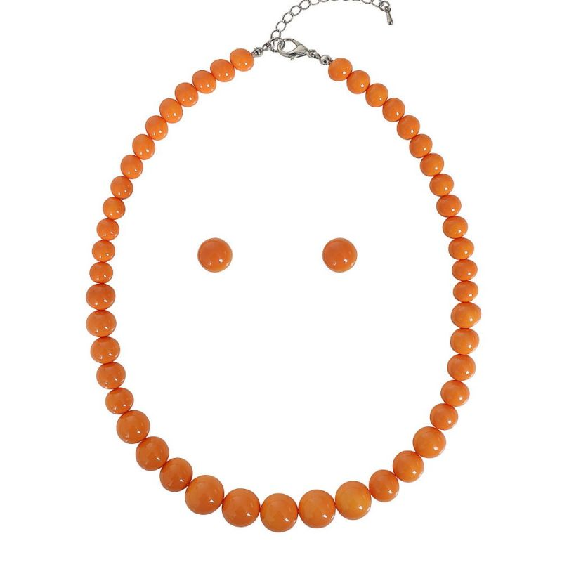 Korusetti, NATALIE Beads Orange