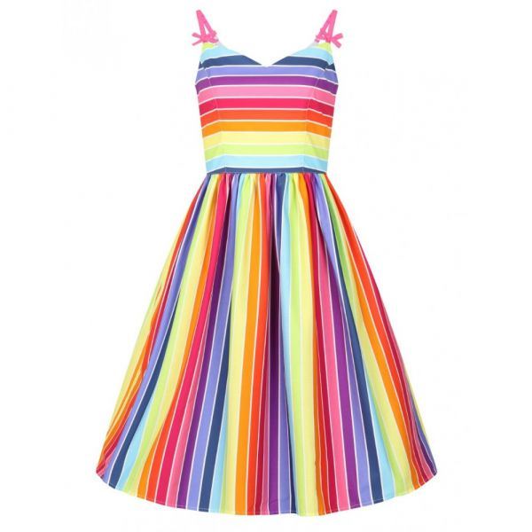Swing Dress OVER THE RAINBOW (40059)