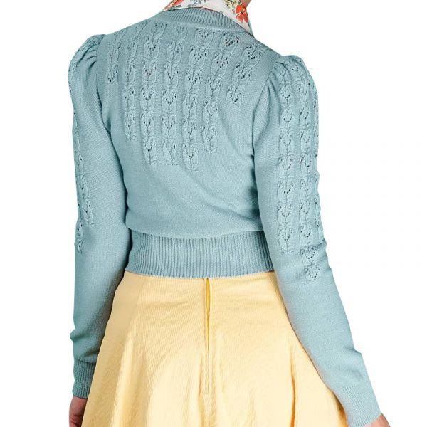 EMMY Cardigan, Peggy Sue Dusty Blue