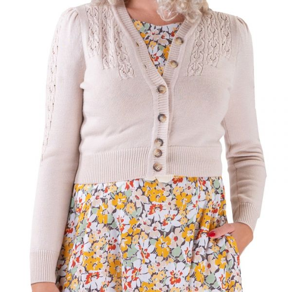 EMMY Cardigan, Peggy Sue Linen