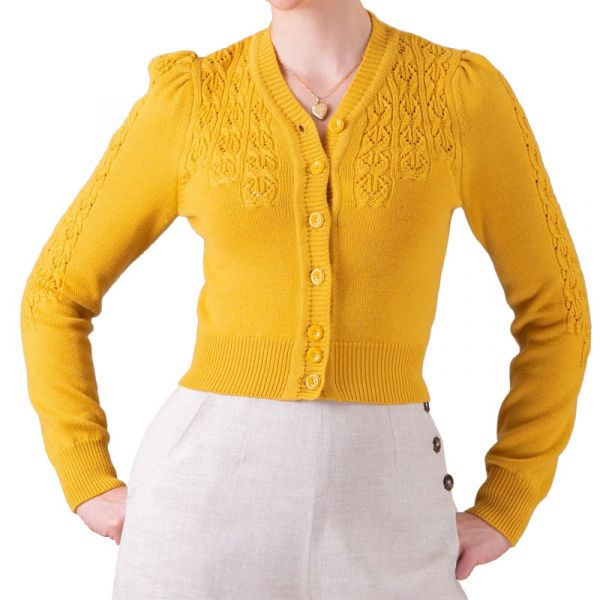 EMMY Cardigan, Peggy Sue Marigold