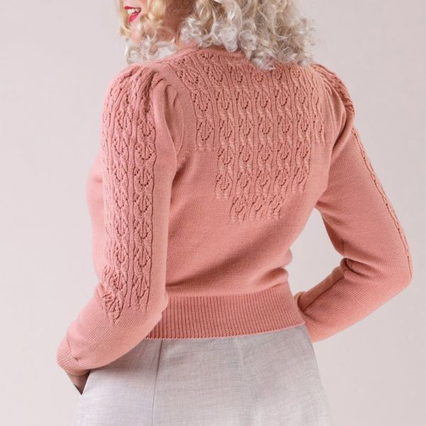 EMMY Cardigan, Peggy Sue Peach