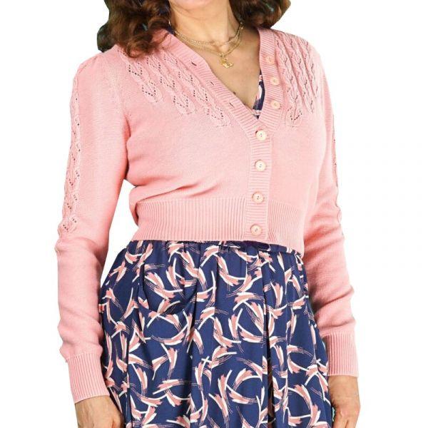 EMMY Cardigan, Peggy Sue Pink
